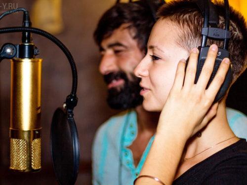 Свидание в студии звукозаписи