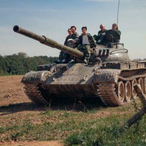 Корпоратив на Т-62