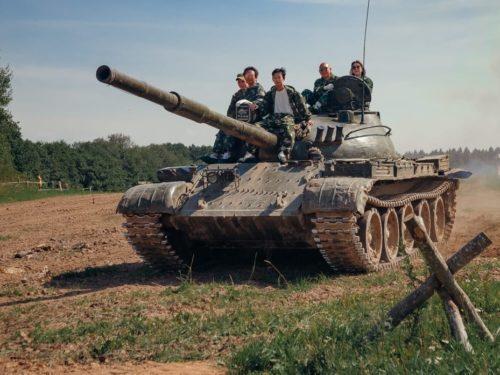 3. Корпоратив на танке Т-62