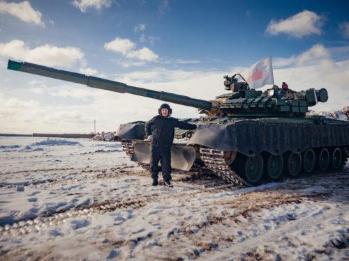 4. Корпоратив на танке Т-80