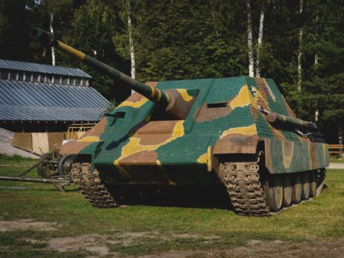 5. Корпоратив на реплике танка Ягдпантера