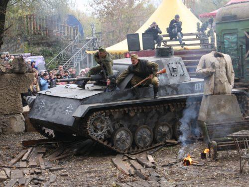 1. Корпоратив на танке Panzer-3 (в Москве)