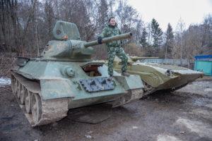 Катание на танках в Москве. Личный опыт