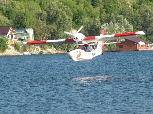 Полет на самолете-амфибии с посадкой на воду