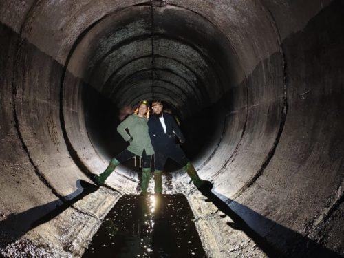 Экскурсия в подземную реку Очаковку