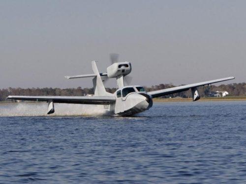 Полет за штурвалом гидросамолета с посадкой на воду