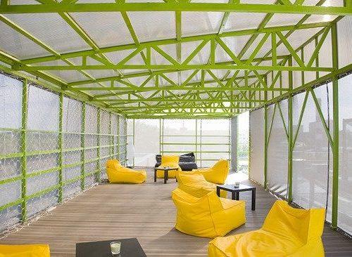 Крыша дизайн-завода «Флакон»